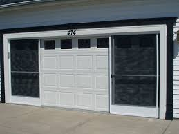 garage doors garage screen door patio enclosure installation