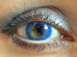 freshlook colors sapphire blue with matrix closeup youtube