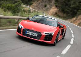 Audi R8 V10 Spyder - power boost price cut for audi r8 v10 spyder goauto
