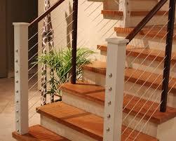 interior design amazing cable stair railings interior home decor