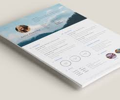 resume free download template free minimalistic resume cv illustrator on behance