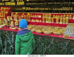 German Christmas Decorations Candles by Germany Christmas Market Candles Stock Photos U0026 Germany Christmas