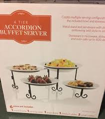 rebajado 4 tier accordion buffet server appliances in davenport
