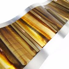 Gold Wall Decor by Gold Wall Decor Golden Horizon Aluminum Sculpture Dv8 Studio