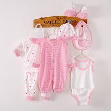 8 pieces baby gift set 0 3 months newborn clothes unisex baby s
