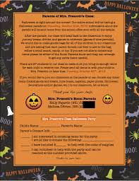 Ideas For A Halloween Party by Need An Idea For A Halloween Flyer To Send Home To Students In