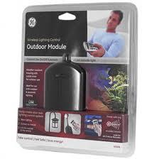 ge outdoor lighting control ge z wave wireless lighting control outdoor module a4c com