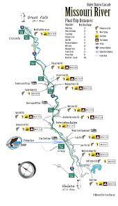 map of missouri river missouri river map the trout shop