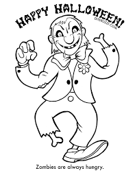halloween coloring pages zombie olegandreev me