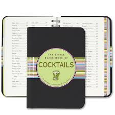 the little black book of cocktails the essential guide to new
