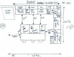 kitchen island layout kitchen island layout dimensions elabrazo info