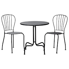 Outside Bistro Table Metal Bistro Table And Chairs Outdoorlivingdecor