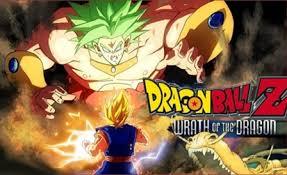poster dragon ball wrath dragon 1995 hindi dubbed