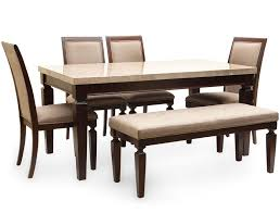 Six Seater Dining Table And Chairs Bliss Marble Top Six Seater Dining Table By Hometown Bliss Marble