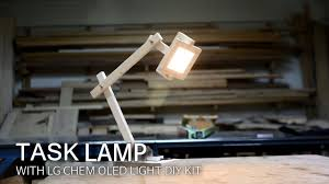 how to make a task l with lg display oled light diy kit