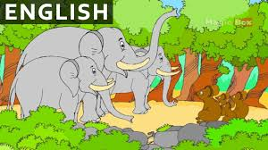 elephant and mice panchatantra in english cartoon animated
