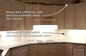 under cabinet light switch commercial and residential electrical done with wireless light switch