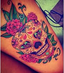 54 absolutely fabulous colorful tattoo designs skull tattoos