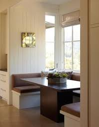Table In Kitchen Lovely Eat In Kitchen Is Filled With A Built In Dining Bench And