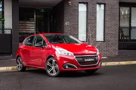 peugeot 208 red 2016 peugeot 208 gt line review caradvice