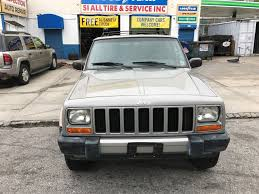 jeep liberty 2001 used 2001 jeep cherokee sport 4wd suv 4 990 00