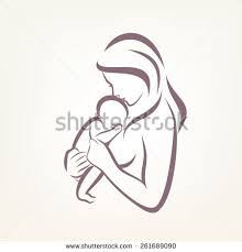 baby outline stock images royalty free images u0026 vectors