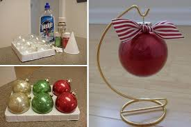 glitter ornament craftiness without the mess diy cozy home