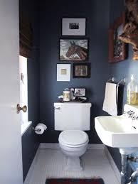 paint color portfolio dark blue bathrooms apartment therapy