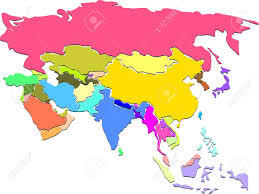 Blank Map Of Asia India Map Outline Stock Photos U0026 Pictures Royalty Free India Map