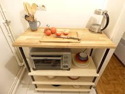 vernis plan de travail cuisine desserte démontable pour cuisine orso clémence mahé