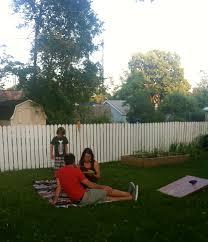 summer solstice backyard bbq drinking spiked tea