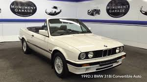 1996 bmw 318i convertible review 1992 j bmw 318i convertible auto for sale