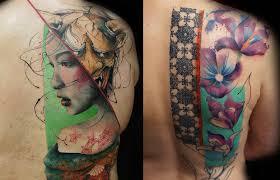 watercolor tattoo archives follow the colours