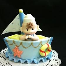 sailor baby shower decorations nautical cake topper sailboat cake from party favors miami