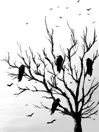 crows tree by black crown on deviantart