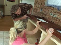 how to install a bathroom countertop and undermount sinks how