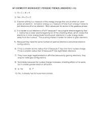 worksheet periodic trends 28 templates periodic trends
