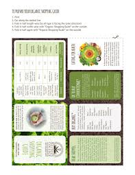 shopping guide arianna rosenthal organic shopping guide