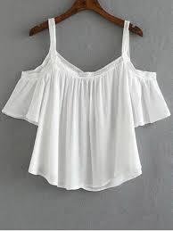 white flowy blouse cold shoulder flowy blouse white blouses s zaful