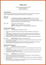 resume formatting moa format