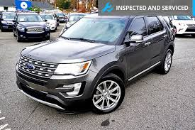 turn off interior lights ford explorer 2016 2016 used ford explorer 4wd 4dr limited at alm marietta ga iid