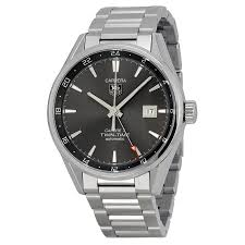 carrera watches tag heuer carrera twin time anthracite dial men u0027s watch war2012