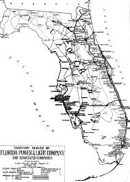florida power light florida memory territory served by florida power and light company