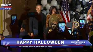 halloween dance party background fnn must watch barack obama and michelle obama do thriller