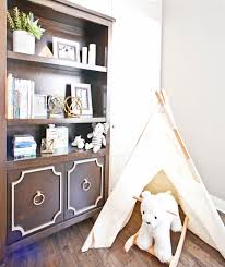 White Nursery Bookcase by Celebrity Design Reveal Jenn Brown And Wes Chatham U0027s Nursery