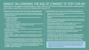 Age Of Consent Map World Health Organization Hiv And Adolescents From Guidance To