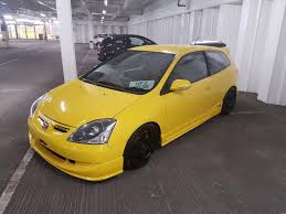 lego honda civic honda civic type r 2004 ep3 jdm yellow good condition lots of