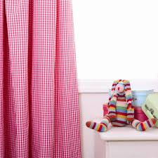 Pink Gingham Curtains Gingham Curtains To Brighten Up Your House Home Design Ideas