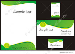 templates corporate identity template stock illustration