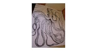 Vintage Nautical Shower Curtain Handpainted Octopus Shower Curtain And Vintage Nautical Decor